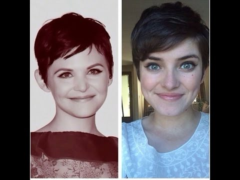 how to style a pixie haircut (ginnifer goodwin style)
