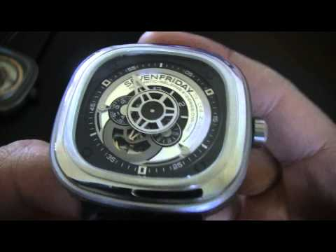 SEVENFRIDAY P1 & P2 WATCH REVIEW