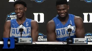 RJ Barrett & Zion Williamson On Their Relationship