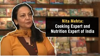 Nita Mehta   Cooking Expert and