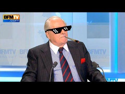 Jean-Marie Le Pen envoie un missile balistique intercontinental à des connasses de lectrices de ELLE