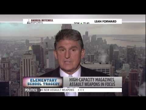 Joe Manchin says Sandy Hook massacre has changed him on gun control