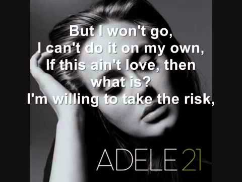 Adele - Don't Leave Me  2012 Eurovision Song New  ( From England )