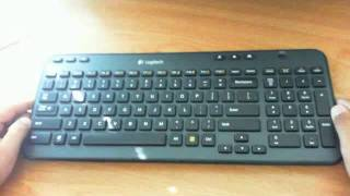Logitech K360 Wireless Keyboard (Like Apple Wireless Keyboard)