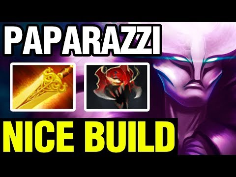 NICE BUILD - PAPARAZZI Plays Spectre - Dota 2