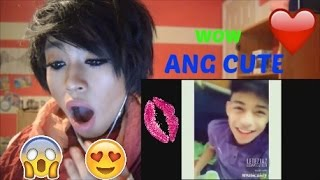 Filipino Cute Hot Boys Musically Compilation Reaction!!!!   2-16