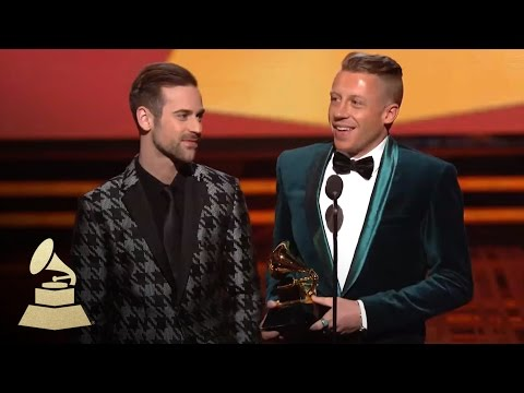 Macklemore & Ryan Lewis Wins Best New Artist | GRAMMYs