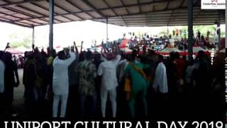 KEGITE DISPLAY THEIR JARATION AT UNIPORT SUG CULTURAL DAY