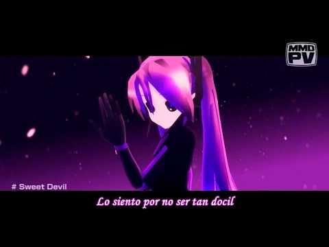 Hatsune Miku - Sweet Devil HD sub español + MP3
