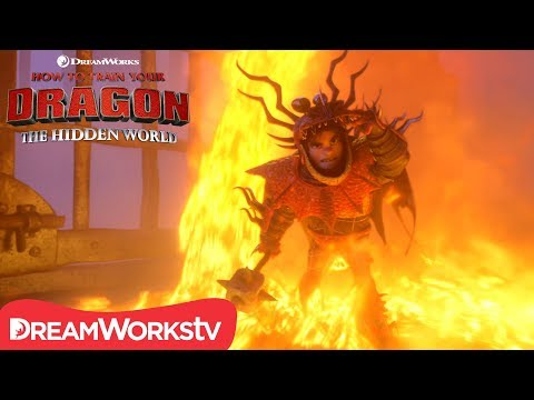 HOW TO TRAIN YOUR DRAGON: THE HIDDEN WORLD | Dragon Rescue