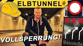 Elbtunnel Vollsperrung - so wird's gemacht! | Zeppelin Rental ON THE JOB