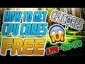 How To Get CPUCORES FREE INCREASE FPS Working 2017 mp3