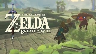 Official Combat Gameplay - The Legend of Zelda: Breath of the Wild