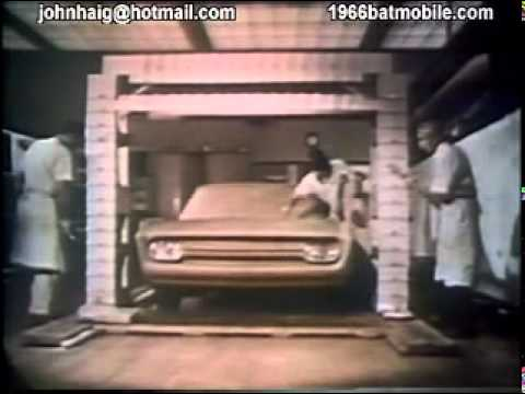 1955 Lincoln Futura Testing at Ford Motor Co.