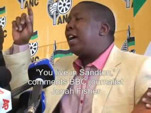 ANC's Malema kicks out BBC reporter