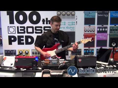 [NAMM] Boss Tera Echo, Multi Overtone & Adaptive Distorsion