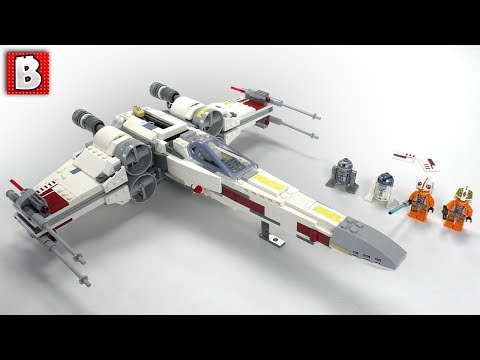 Lego Instructions For Star Wars X Wing Fighter Set 6212 2006 How
