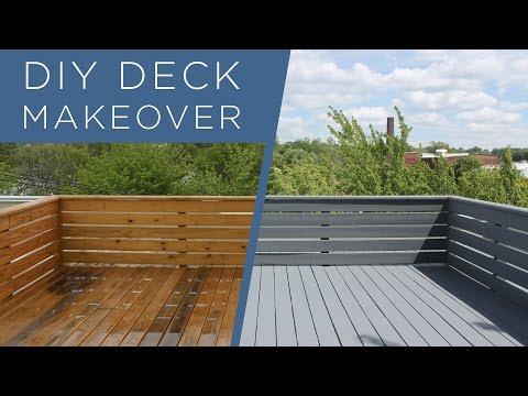 DIY Deck Makeover | Using BEHR Deckover