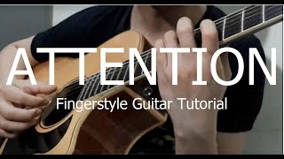 Charlie Puth - Attention(Hướng dẫn Guitar Solo/fingerstyle Tutorial)