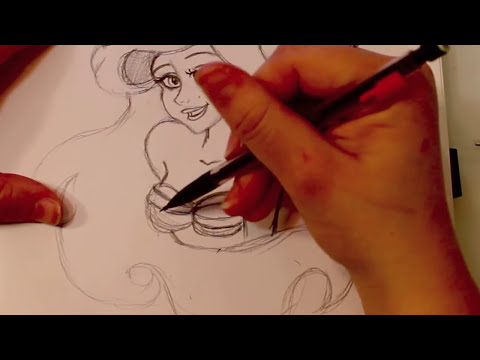 How to Draw Ariel