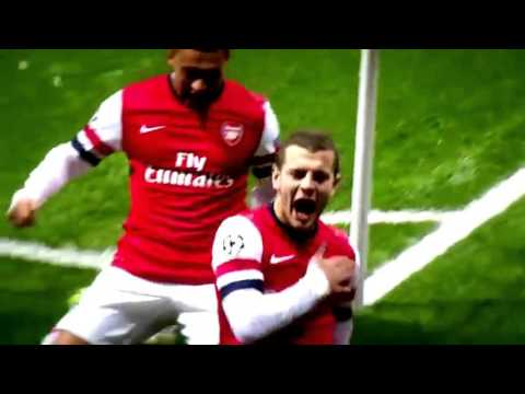 Jack Wilshere - Best moments of 2012-2013