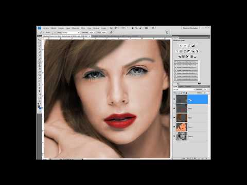 Tutorial Poner color a fotos de blanco y negro con photoshop (Exelente)