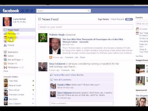 Facebook Finding The Birthday List Again