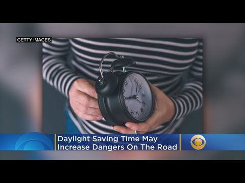 Daylight Saving Time May Increase Dangers On Road, AAA Experts Warn
