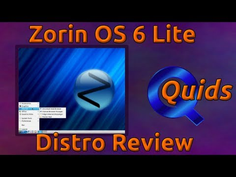 Zorin OS 6 Lite Linux Distro Review