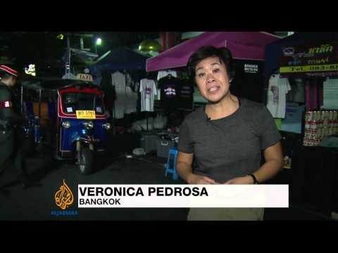 Deaths in Bangkok blast near protest site