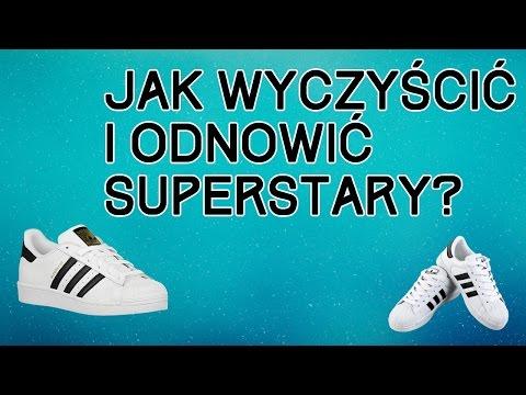Kompletny poradnik jak wyczyścić i odnowić Superstary? Adidas Superstar I inne buty skórzane.