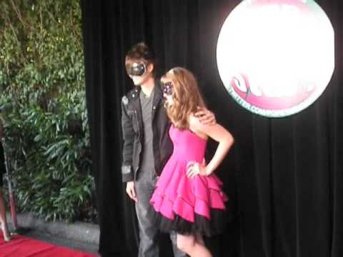 Debby Ryan & MANY Stars on the Red Carpet @ Her Sweet 16! Video