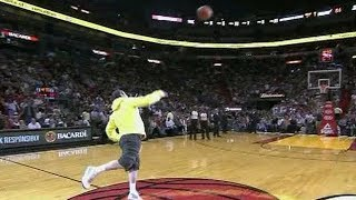 NBA Fans Making Half Court Shots For Money/Cars Compilation