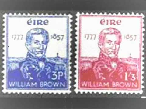 http://www.irishnationalparty.ie/INP/ Admiral William Brown (also known in Spanish as Guillermo Brown) was born in Foxford, County Mayo, Ireland on June 22, ...