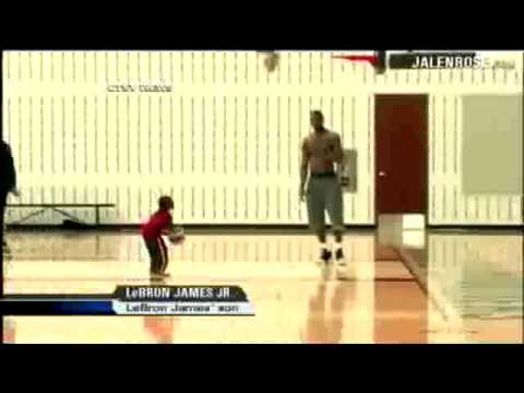LeBron James Jr aka Prince James is sick! Look at this video of LeBron working his son out. He will be the first pick in the 2022 draft! FOLLOW @jerseychaser...