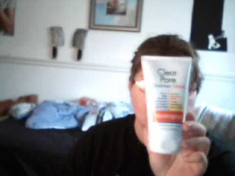 Neutrogena cleanser and  Mask