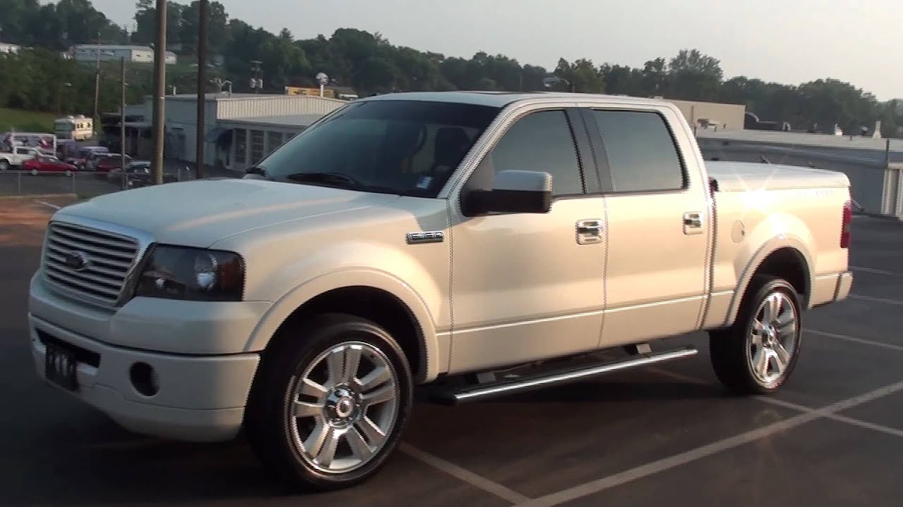 For sale 2008 ford f 150 limited no 703 of 5000 only 27k miles