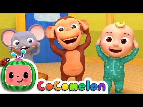 Head Shoulders Knees & Toes | CoCoMelon Nursery Rhymes & Kids Songs