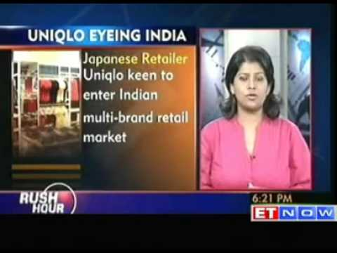 Uniqlo keen to enter Indian market  Sources
