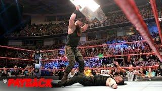 Roman Reigns vs. Braun Strowman: WWE Payback 2017 (WWE Network Exclusive)