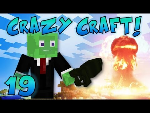 Minecraft: Crazy Craft Ep. 19 - NUCLEAR BOMB!