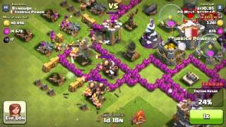 Clash of Clans - Town Hall 7 - Attack by A Noob