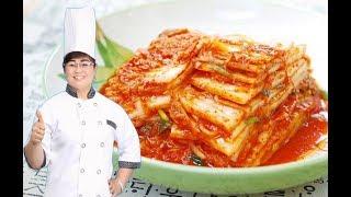 Cách làm Kim Chi Cải Thảo giòn ngon đơn giản/ 통배추김치 recipe/ Traditional kimchi recipe
