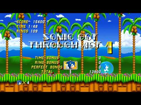 Sonic 2 HD - Alpha Demo
