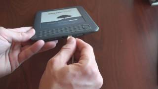 Kindle 3 Unboxing