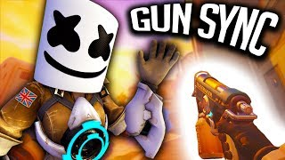 Download Lagu Overwatch Gun Sync - Selena Gomez & Marshmello - Wolves Gratis STAFABAND