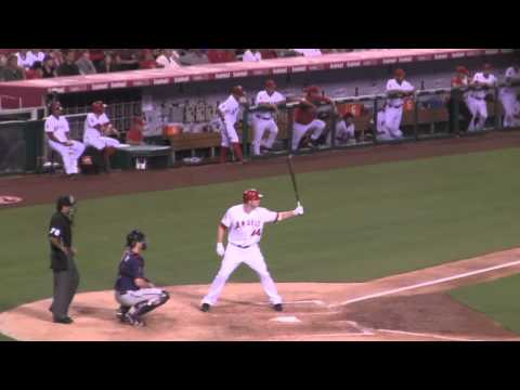 Torii and Trumbo Homer to Beat Twins 8-2-11