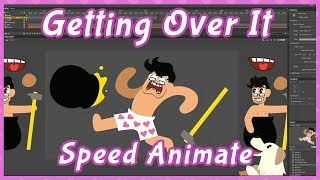 Behind the Scenes: Markiplier Getting Over It Speed Animate