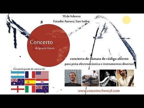 Concerto - Open Source Chamber Concerto | Concierto de Cámara de Código Abierto