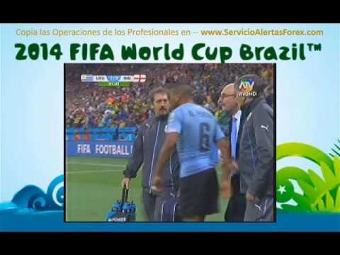 Uruguay vs Inglaterra 2-1 RESUMEN COMPLETO  Luis Suarez Actuacion Heroica en el Mundial Brasil 2014